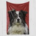 Woof Custom Portrait Blanket