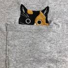 Embroidered Cat Unisex T-Shirt