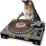 DJ Cat Scratching Toy