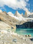 Laguna Sucia lake