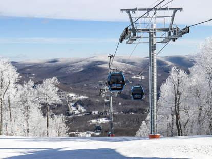 Belleayre Mountain Ski Center NYC ski trips