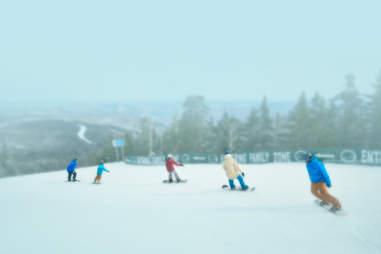 Okemo Skiing from NYC