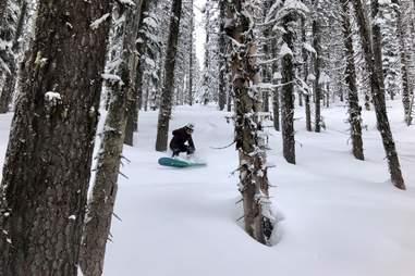 Ski Bluewood