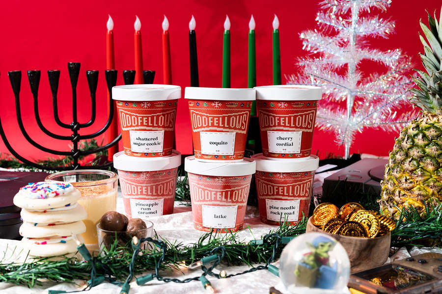Holiday-Themed Ice Cream to Treat Yourself To This Year