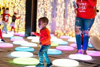 Luminova Holidays hopscotch