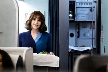 the flight attendant