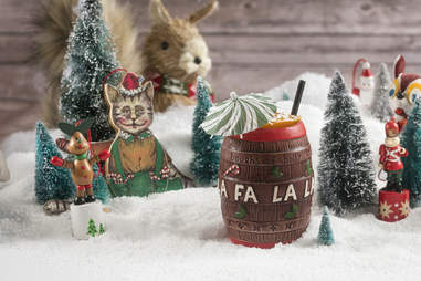 Sip with Santa cocktail