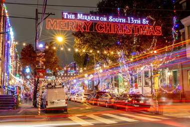 The Miracle on South 13th Street Holiday Light Display