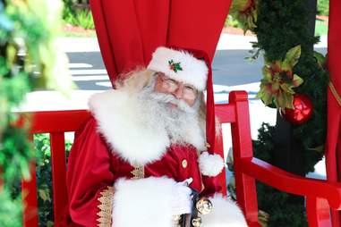 Santa Clause at The Shops at Pembroke Gardens
