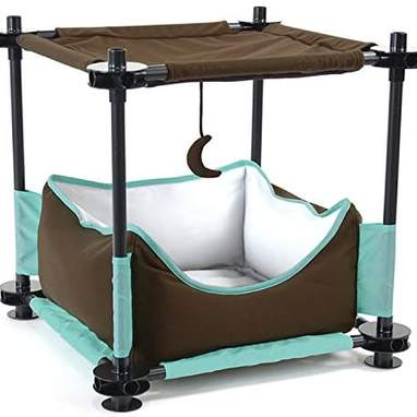 Kitty City Cat Claw Steel Bed