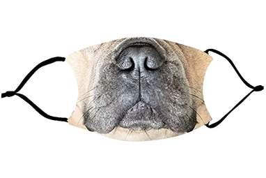 French Bulldog Mouth Face Mask