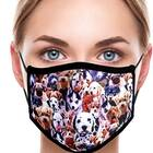 Colorful Dogs Mask