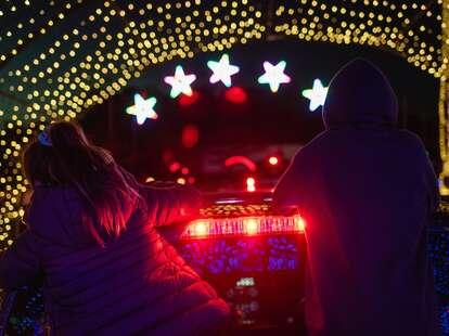 Valleyfair Amusement Park light show
