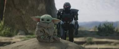 mandalorian baby yoda dark trooper