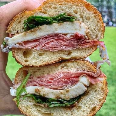"""""""The Matthew"""" Prosciutto + Mozzarella Sandwich Kit - 4 Pack"""