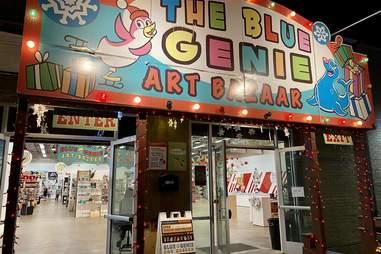Blue Genie exterior