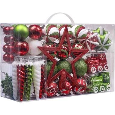 Classic Shatterproof Christmas Ball Ornaments