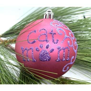 Cat Parent Christmas Ornament