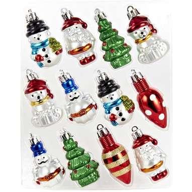 Kurt Adler Plastic Set of 12 Ornaments