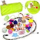 Cat Tunnel And Assorted Toys
