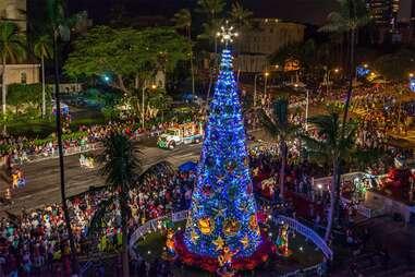 Honolulu City Lights