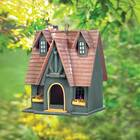 Fairytale Cottage Hanging Birdhouse
