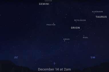 geminid meteor shower tonight