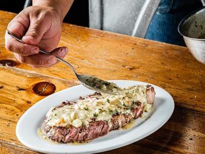 Cardellino Restaurant steak