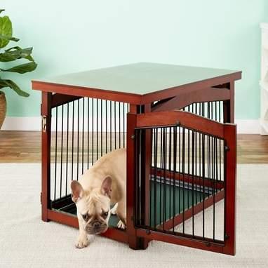 Single Door Furniture-Style Dog Crate