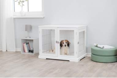 Wood and Wire Medium Pet Crate