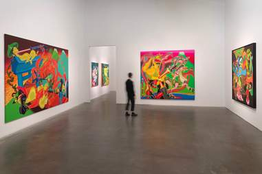 New Museum Peter Saul Crime and Punishment