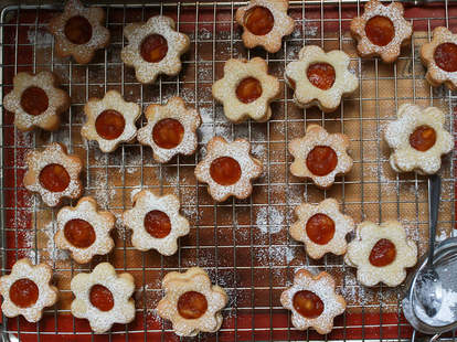 turon linzer cookies cookie recipe