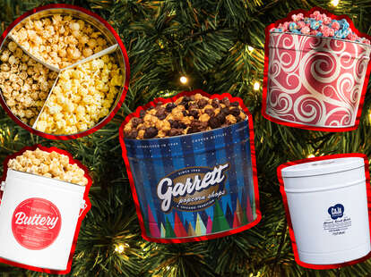 gourmet popcorn tins