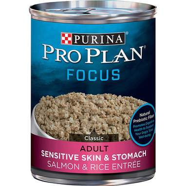 Purina Pro Plan Focus Sensitive Skin & Stomach Wet Dog Food