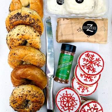 Zucker's Holiday Bagel Brunch for 6