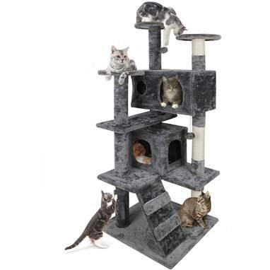 Nova Microdermabrasion 53 Inches Multi-Level Cat Tree