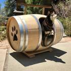 Wine Barrel Dog Bed | Etsy