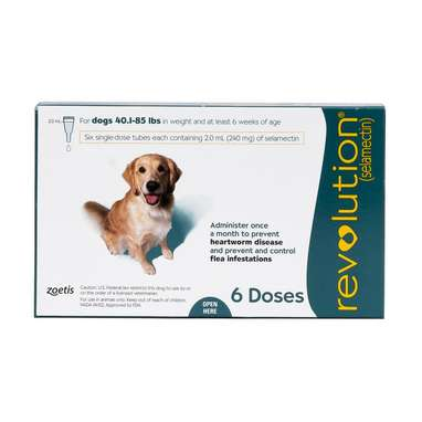 Revolution Topical Solution for Dogs
