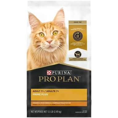 Purina Pro Plan Prime Plus Adult 7+ Dry Cat Food