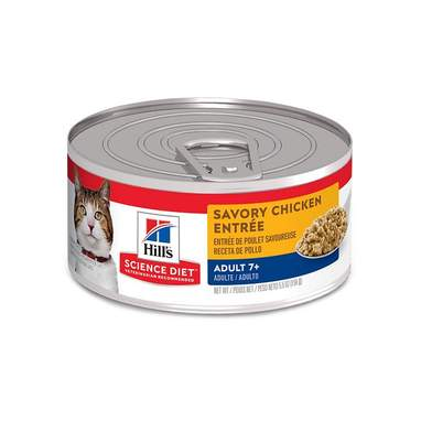 Hill's Science Diet Adult 7+ Canned Cat Food