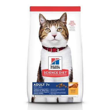 Hill's Science Diet Adult 7+ Dry Cat Food