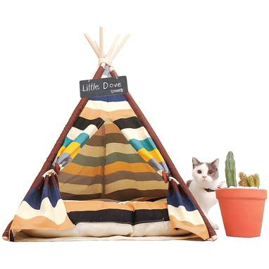 Colorful Striped Tent