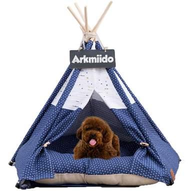 Polka Dot Pet Tent