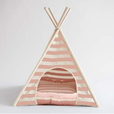Ranson Striped Pet Tent