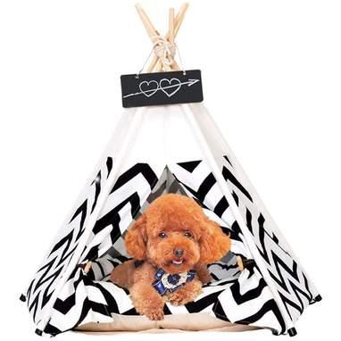Zig-Zag Pet Tent