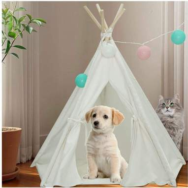 Simple Pet Tent With Mat