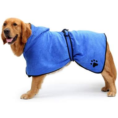 Bonawen Dog Bathrobe