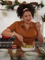 Watch Michelle Buteau Cook Mini Chicken Pot Pies