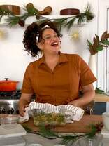 Watch Michelle Buteau Cook a Green Bean Casserole
