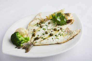 Estiatorio Milos fish